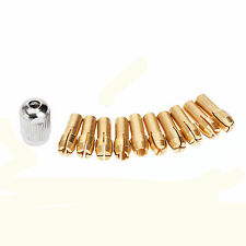 10PC BRASS DRILL CHUCK COLLET BIT FOR DREMEL TYPE ROTARY TOOLS 0.5 - 4.3MM R20