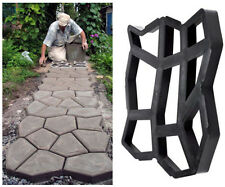 New Driveway Paving Pavement Mold Patio Concrete Stepping Stone Path Walk Maker