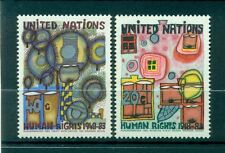 "Nations Unies New York 1983 - Michel n. 438/39 - ""Droits de l'Homme"""