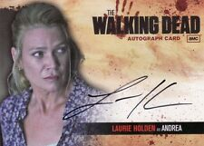 Walking Dead Season 1 Laurie Holden as Andrea A4 Auto Card