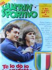 Guerin Sportivo n°15 1984 con poster Lazio 1983-84 - con film Campionato  [GS42]