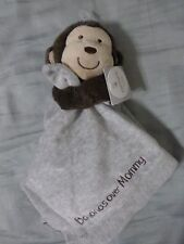 "NWT Carter's ""Grey Monkey - Bananas Over Mommy"" Security Blanket"