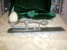 "Antique 19th Century Cast Iron ""Reliable"" Egg Scale, Los Angeles"