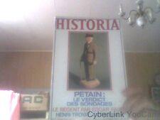 Historia- n 371 Octobre 1977-Petain le verdict des sondages...