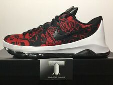 "Nike KD 8 Ext ""Red Floral"" ~ 806393 004 ~ Uk Size 9.5"