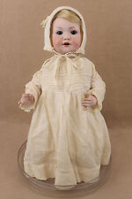 "17"" antique bisque head composition German Armand Marseille toddler baby doll"