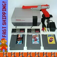 Nintendo NES Console System w/ Games - Super Mario Bros 1 2 & 3 - New 72 Pin!