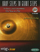 Baby Steps To Giant Steps  The Road To Jazz Drumming Drums Book/Cd (Turn It Up &