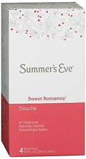 Summer's Eve Douche Sweet Romance 4 Each