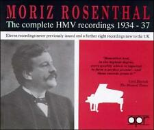Moriz Rosenthal: The complete HMV recordings, 1934-1937 (CD, Jan-1993, 2 (cd396)
