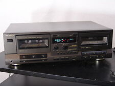 Technics RS-TR313 stereo double cassette deck - made in Japan