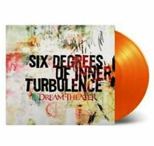 DREAM THEATER Six Degrees Of Inner Turbulence 2 x ORANGE LP Pre Order 11 Nov