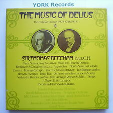 SHB 32 - THE MUSIC OF DELIUS Volume 1 SIR THOMAS BEECHAM -Ex 5 LP Record Box Set