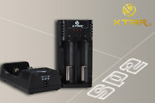 XTAR SP2 Li-ion/IMR Ultra Rapid Battery Charger 0.5A, 1A & FAST 2A *UK VERSION*
