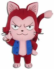 """NEW Great Eastern GE-52935 Fairy Tail 8"""" Lector Exceed Red Cat Stuffed Plush"""