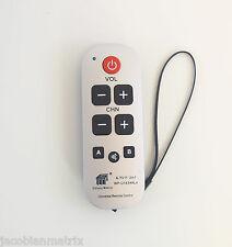 Gmatrix Waterproof remote LG Vizio Zenith Philips RCA No Program Needed A-TV11