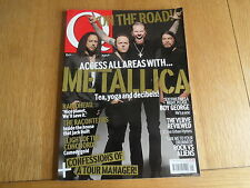 Q MAGAZINE NO. 266 SEPTEMBER 2008: METALLICA, RADIOHEAD, RACONTEURS, THE VERVE
