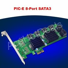 PCI-E SATA3.0 expansion card 8 port SATA3 SATA III 6G Marvell double chip