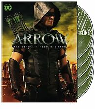 Arrow Season 4 Four Complete New Sealed Dvd Boxset Fast Free P&P Region 2 UK