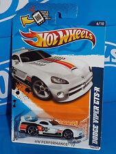 Hot Wheels 2012 Performance Series #146 Dodge Viper GTS-R White K&N