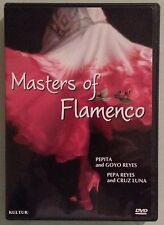 pepita and goyo reyes   MASTERS OF FLAMENCO  DVD  includes insert