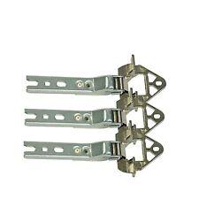 3 x Scharnier Türscharnier Kühlschrank 268699 268698 Bosch Siemens Neff