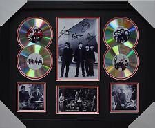 U2 MEMORABILIA FRAMED SIGNED LIMITED EDITION 4CD..