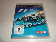 PLAYSTATION 3 PS 3 f1 2012-Formula