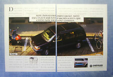 BELLEU994-PUBBLICITA'/ADVERTISING-1994- CHRYSLER VOYAGER