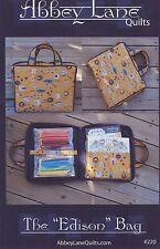 EDISON BAG QUILTING PATTERN, From Abbey Lane Quilts, NEW