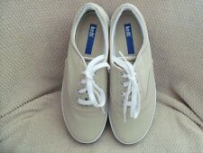 Keds Andie CVO Khaki/Tan Micro Stretch Fabric Lace-Up Shoes Women's Size 7M