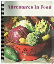 *MEDFORD NJ VINTAGE *METHODIST CHURCH COOK BOOK *ADVENTURES IN FOOD *NEW JERSEY