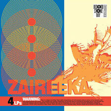 "FLAMING LIPS, ZAIREEKA, 4 DISC VINYL 12"" LP DELUXE LIMITED EDIT BOX SET (SEALED)"
