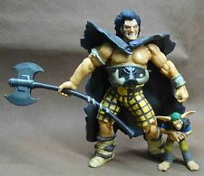 2000AD Collectors  * SLAINE Warriors  THE BARBARIAN ukko *  ACTION FIGURE  7""