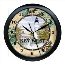 Personalized Key West  Wall Clock Beach Home Ocean Gift Nautical Decor