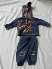 BABY BOY'S DISNEY TIGGER WINNIE THE POOH OUTFIT SWEAT PANTS & SWEATSHIRT 0-3M