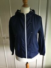 "BNWOT Boy's navy showerproof cagoule jacket 33""-34"" chest Dunnes Stores"
