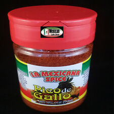 Pico De Gallo Hot spicy Snack Seasoning Clasico La Mexicana 4oz