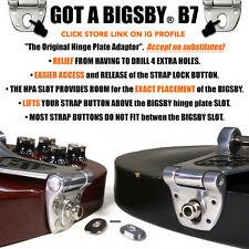 BIGSBY B7 and BIGSBY B3 retrofit by TOWNER - Hinge Plate Adaptor