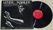 James Levine - LEVINE CONDUCTS MAHLER Symphony No. 4 in G - 1975 RCA Red Seal LP