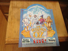 The Wizard of Oz Live 50th Anniversary Program 1988, Downy Purina , MMG Arena