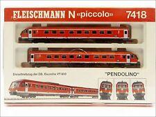 Fleischmann piccolo 7418 K Triebwagen Pendolino BR VT 610 DB Spur N 1:160