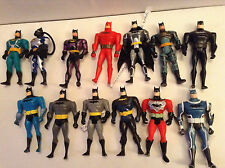 13 x BATMAN THE ANIMATED SERIES  kenner action figures 1992-2000s btas