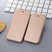 Leather Wallet Cards Holder Stand Clear Slim Flip Case Cover For iphone 7 7Plus