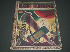 1936 JANUARY FORTUNE MAGAZINE - GREAT COVER & ADS - F 71