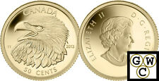 2013 Proof 50-Cent 'Bald Eagle' 1/25oz Gold Coin .9999 Fine (13172)
