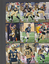 2014 CFL UPPER DECK WINNIPEG BLUEBOMBERS TEAM SET BASE+SHORT PRINTS 14 CARDS