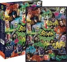 AQUARIUS JIGSAW PUZZLE BATMAN CLASSIC TV SERIES GOTHAM CITY 1000 PCS #65242