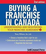 Buying a Franchise in Canada-ExLibrary