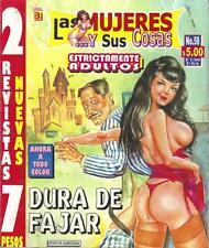 LAS MUJERES Y SUS COSAS mexican comic SEXY GIRLS, SPICY #58